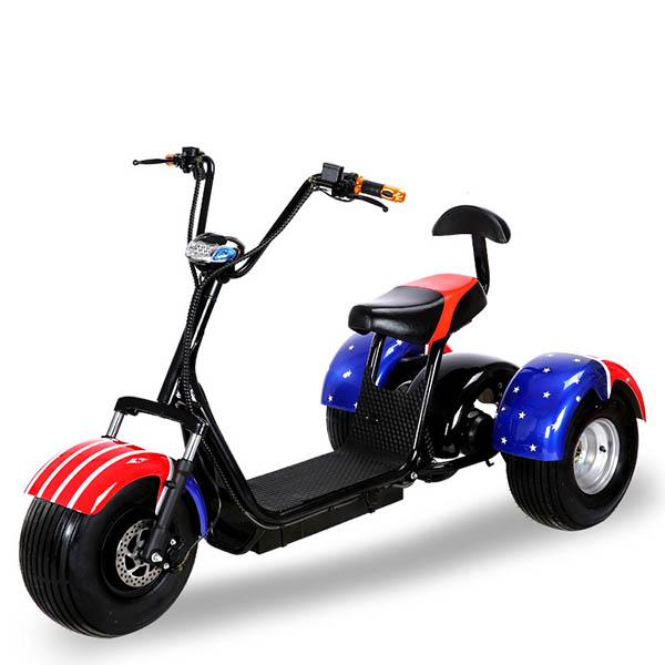 Citycoco скутер (Харли) - VS 800