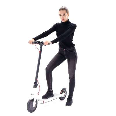Smartrider electric scooter (white)